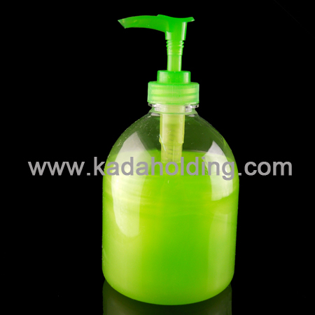 500ml PET hand soap bottle with lotion pump